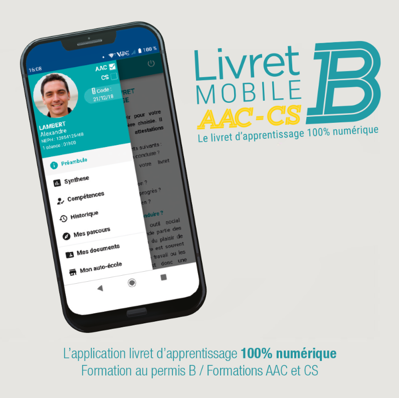 ecoledeconduiteberckoise-connexionlivretmobile