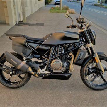 Aurevoir Ducati Monster 821. BonjourHusqvarna Svartpilen 701 !